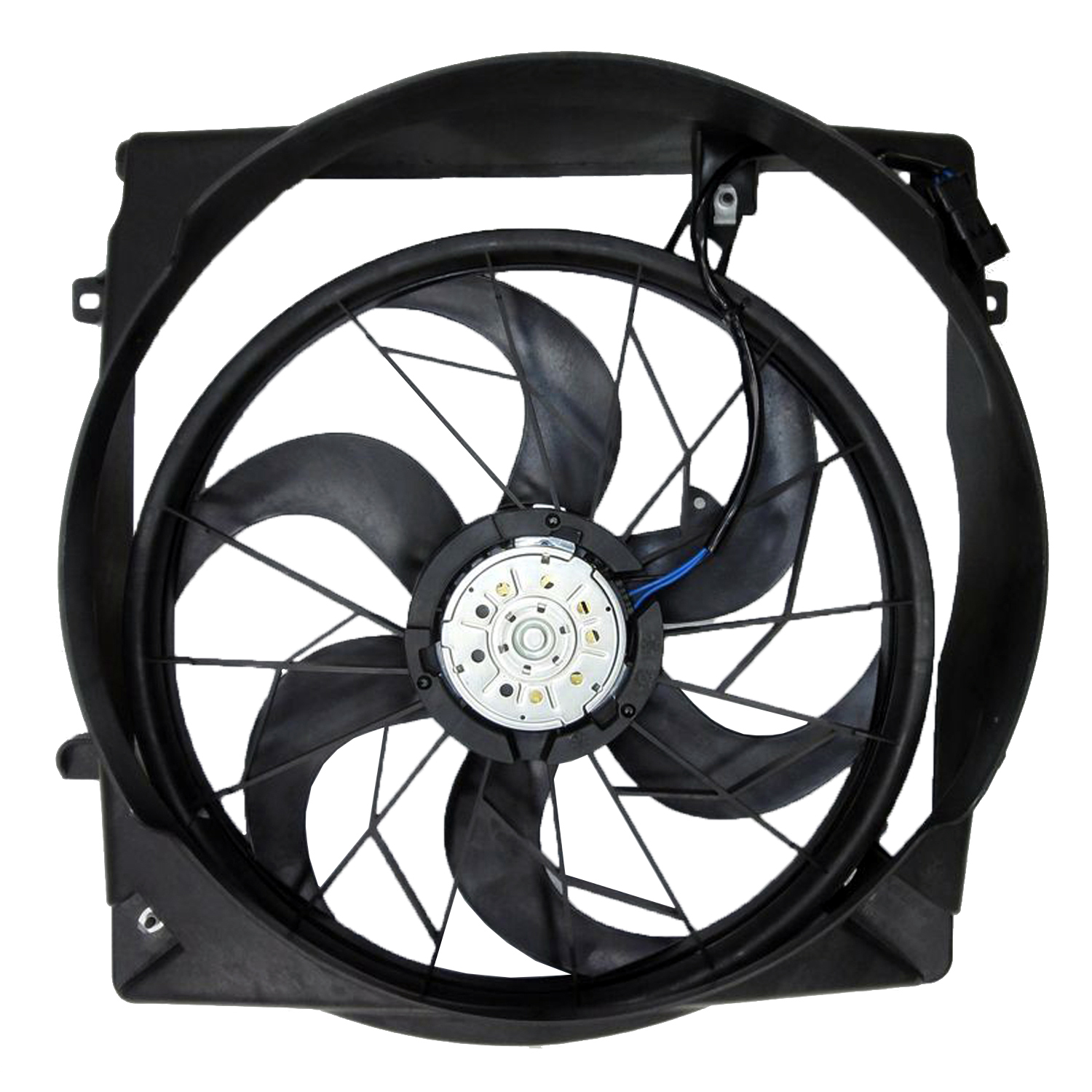 Cpp Radiator Cooling Fan Assembly For 2005 2007 Jeep Liberty