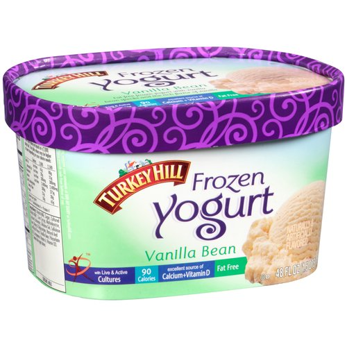 Turkey Hill Vanilla Bean Frozen Yogurt, 48 oz