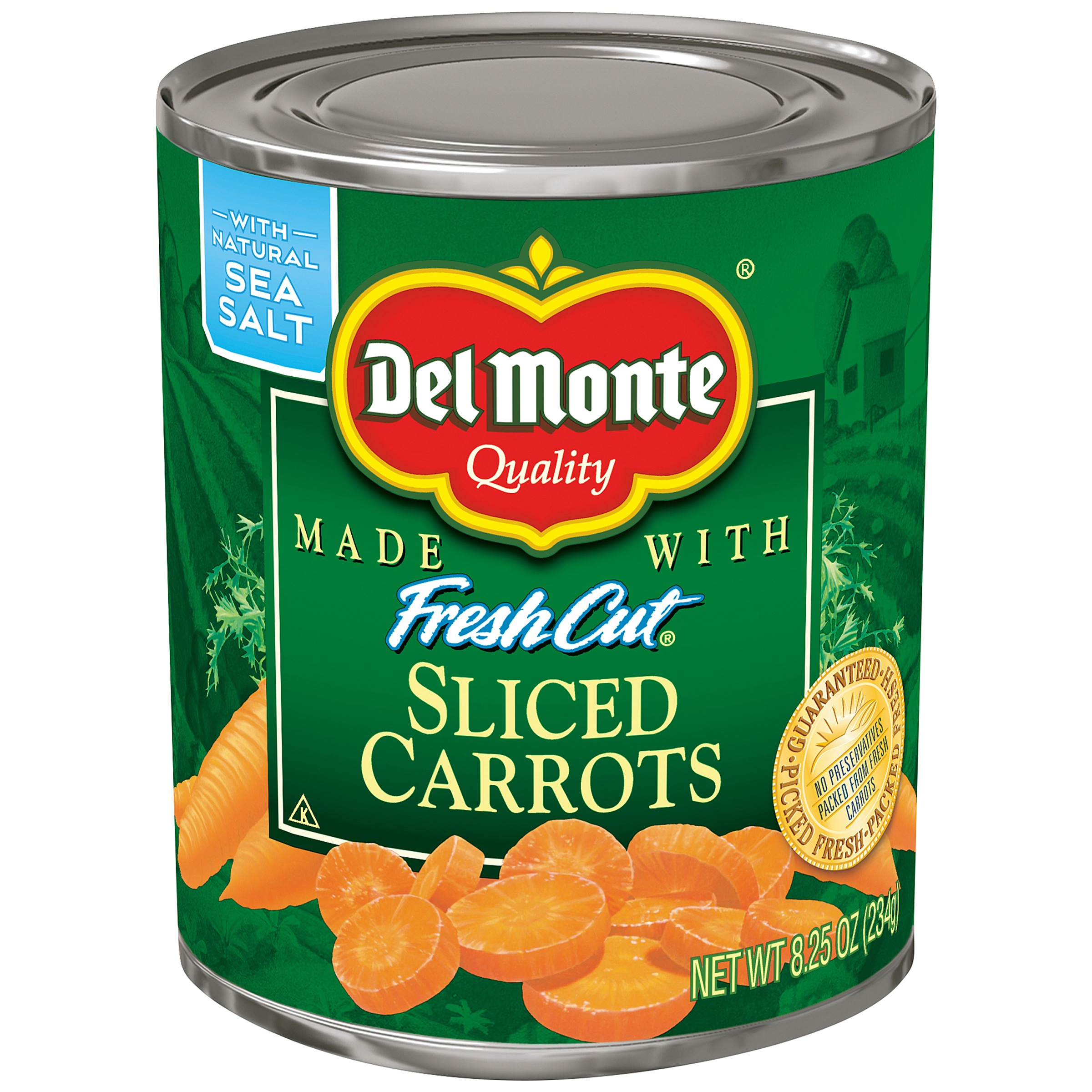 Del Monte Fresh Cut Sliced Carrots, 8.25 Oz
