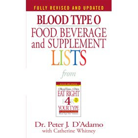 Eat right 4 your type personalized cookbook type o 150 healthy blood type o food beverage and supplement lists fandeluxe Images