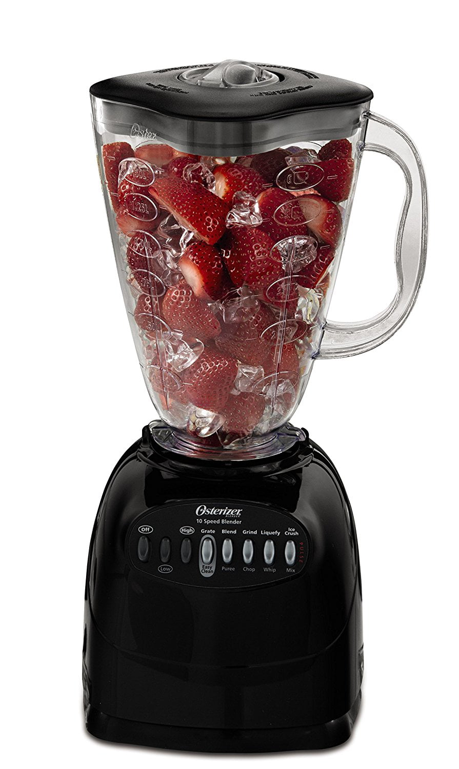 Oster Blender 6 Cup Capacity 10 Speed Black