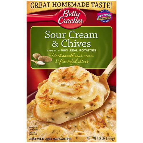 Betty Crocker Sour Cream & Chives Potatoes, 4.8 oz