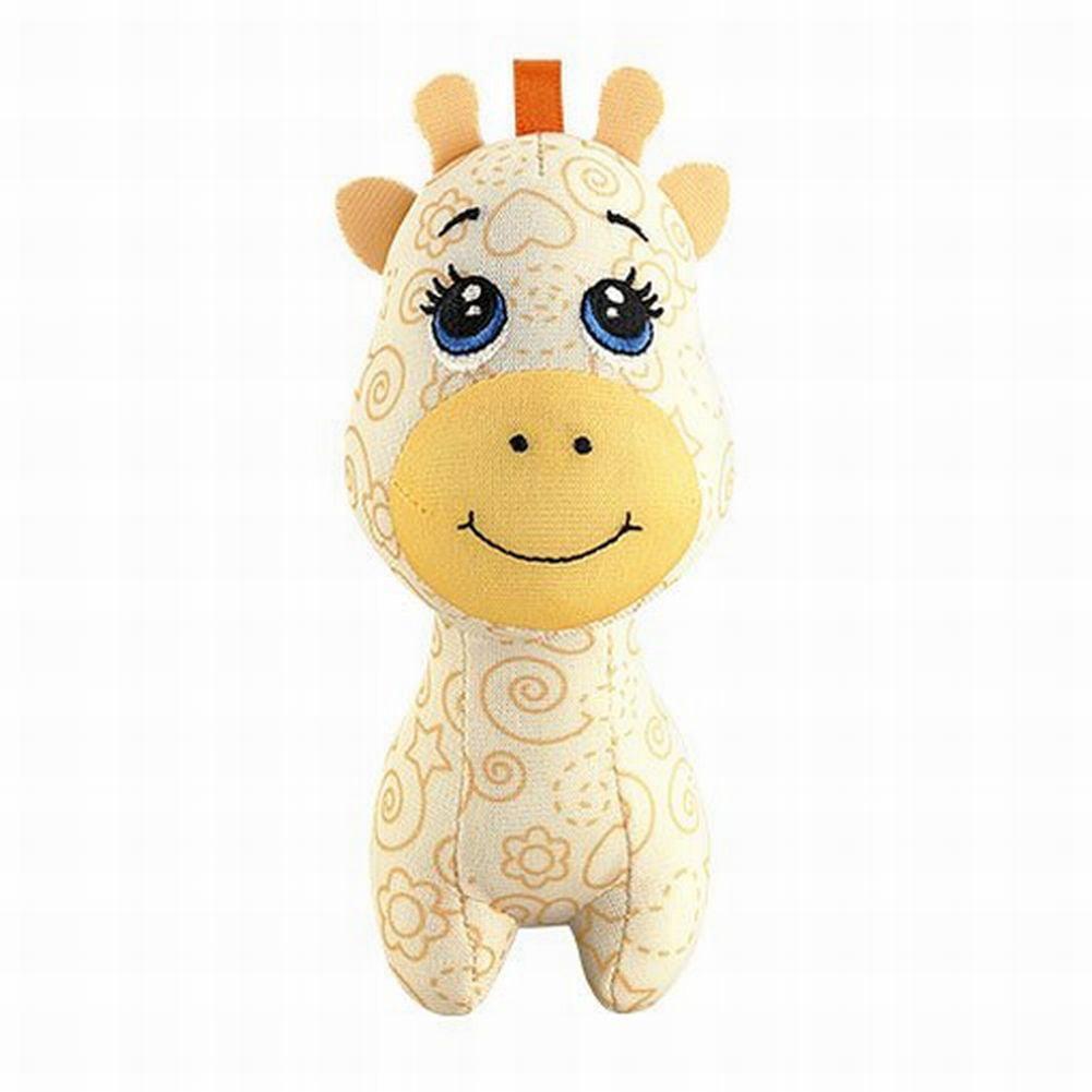 Fisher Price Doodle Bear Draw On Me Giraffe Stuffed Animal Mini Pal