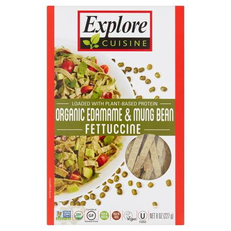 (6 Pack) Explore Cuisine Organic Edamame & Mung Bean Fettuccine, 8 oz ()