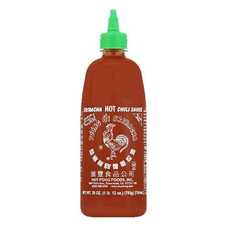 Sriracha Hot Chili Paste - Huy Fong Sriracha Chili Sauce, 28 OZ (Pack of 12)