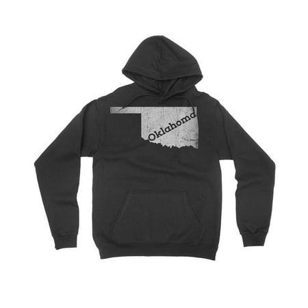 Oklahoma Sooners Mens Sweatshirts - Medium / Black Oklahoma Mens Sweatshirt Home State Hoodie