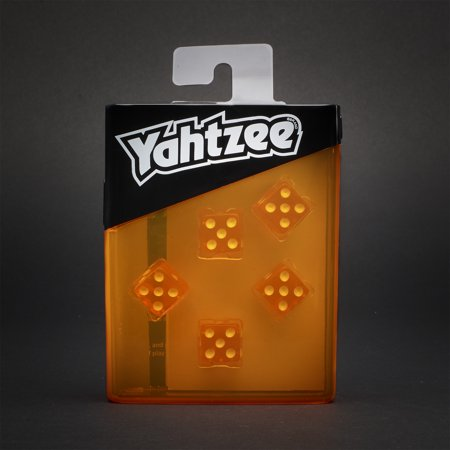 Yahtzee Neon Pop Board Game Strategy Game with Dice