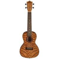Lanikai Model OA-C Oak Concert Size Acoustic Ukulele with 10mm Padded Gig Bag