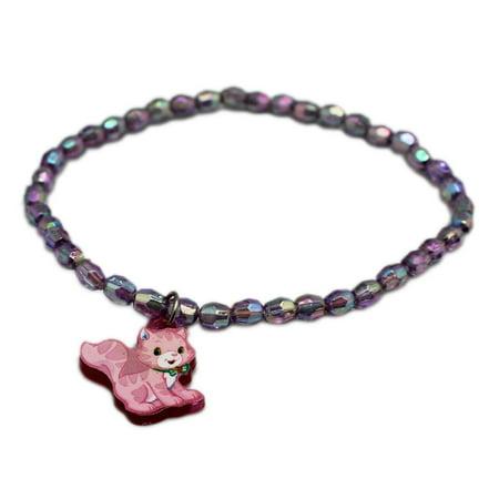 Strawberry Shortcake Charm Bracelets (Strawberry Shortcake Sparkle Bead Charm Bracelets (3)