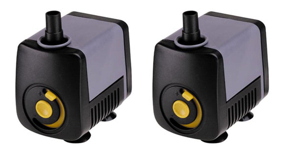 (2) Supreme Pondmaster Magnetic Drive 65 GPH Pond Mini Statuary Pumps 02510 by Pondmaster