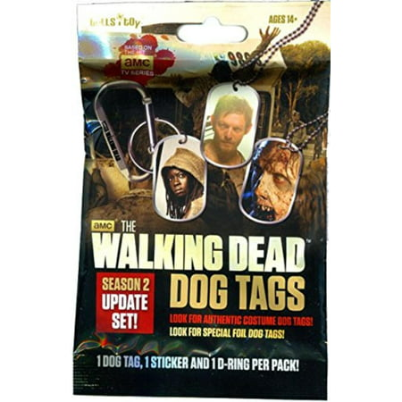 Stick Figure Dog - Season 2 Dog Tag, Stick & Carabiner Pack [Random Character], Collect all of your favorite characters in this updated series 2 imagery! By Walking Dead