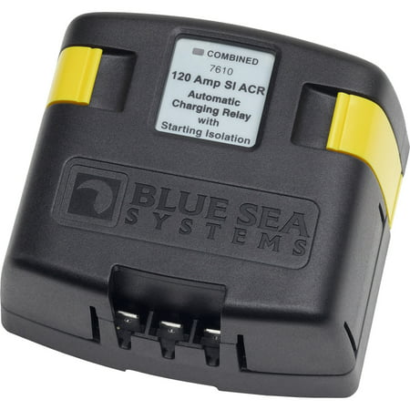 Blue Sea Systems SI-ACR Automatc Charging Relay, 12/24V DC/120A