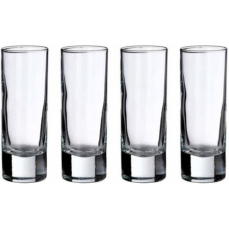 Lillian Rose Set of 4 Tall Shot Glasses (Bulk Glass Shot Glasses)