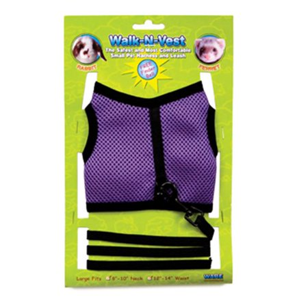 Ware Manufacturing 819 03804 Ware Manufacturing Walk N Vest  Xlg Assorted Colors