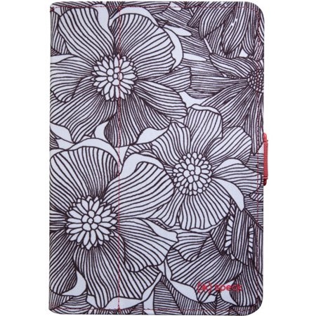 New Speck iPad Mini 1 2 3 Fresh Bloom Coral Pink FitFolio Flip Cover Case+Stand