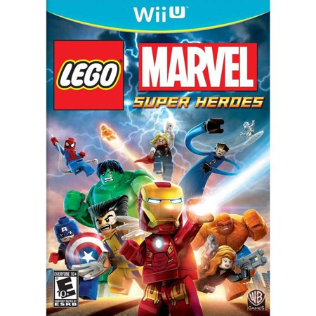 Warner Home Video Lego Marvel Super Heroes (Wii U) - Video
