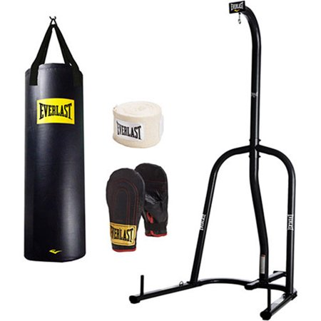 Everlast 100 lb. Heavy Bag, Gloves and Stand Value