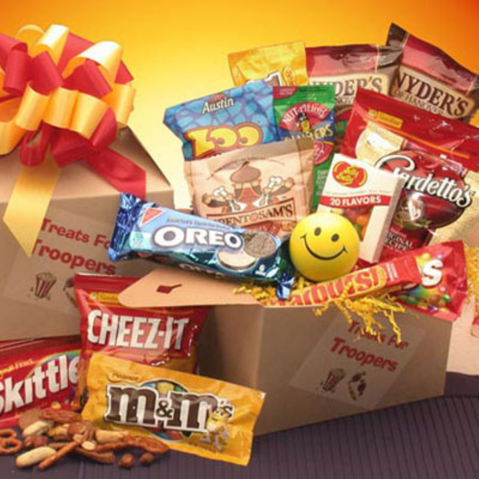 Treats For Troopers Snack Package 819102