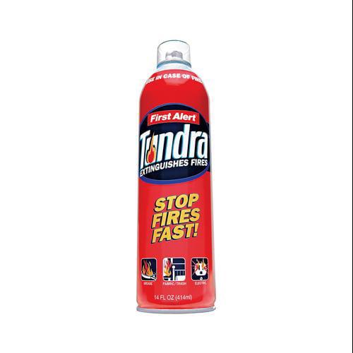 First Alert Brk AF400 Tundra Fire Extinguishing Spray, 14-oz.