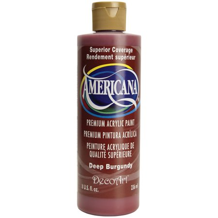 Americana acrylic paint 8oz deep burgundy - Deep burgundy paint color ...