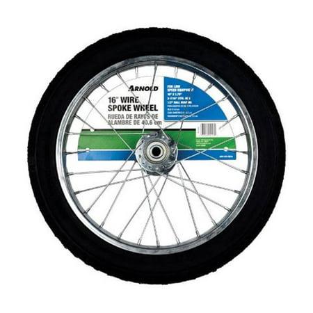 Arnold Wire Spoke Wheel 16 in. Dia. 100 lb. Butyl (Wire Spoke Motorcycle Wheels)