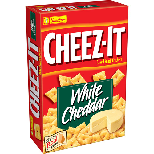 Cheez-It White Cheddar Baked Snack Crackers, 13.7 oz