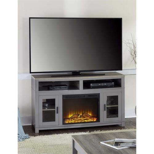 "Carver Fireplace TV Stand up to 60"" Multiple Colors"