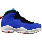 Kids Air Jordan 10 X Retro GS Tinker Huarache Light Racer Blue Team Or
