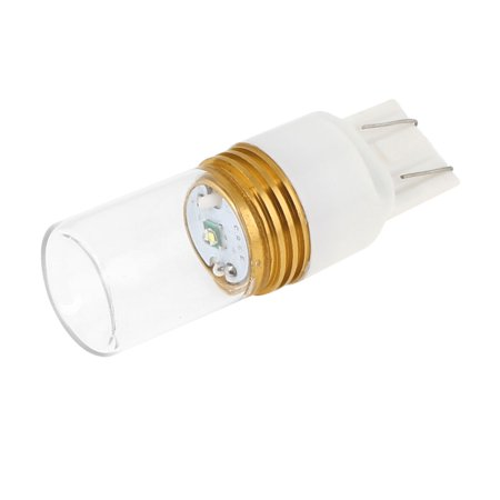 auto dc 12v 5w t20 socket white led light bulb turn brake side tail lamp bulb. Black Bedroom Furniture Sets. Home Design Ideas