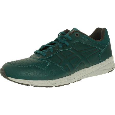 Onitsuka Tiger Women's Shaw Runner Shaded Spruce/Shaded Spruce Low Top Leather Running Shoe - 10.5M / -