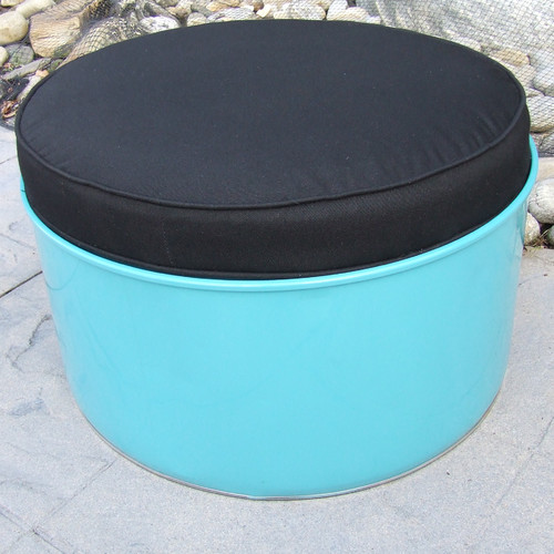 Drum Works Furniture Tucson Ottoman with Cushion
