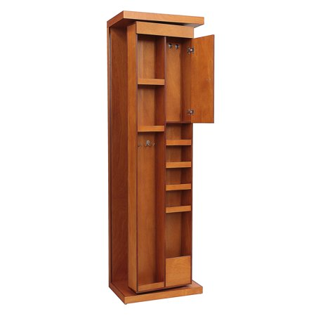 REZ Furniture Mandir Rotating Mirror Armoire