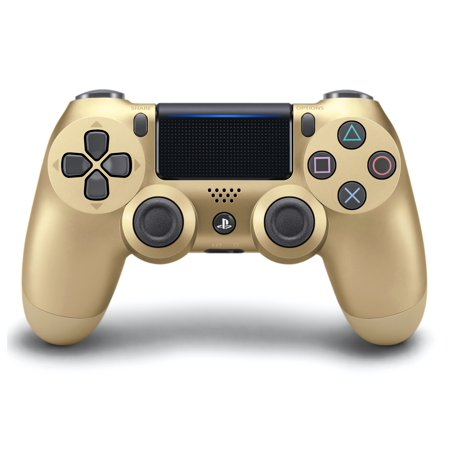 Sony Play Station 4 Dual Shock 4 Controller, Gold (Bilingual English/Espanol Packaging) by Sony