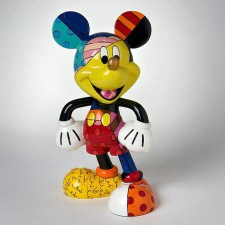 Romero Britto Disney Traditions Mickey Mouse Pop Figurine 8 Inch 4019372