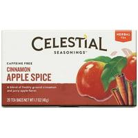 Celestial Seasonings Cinnamon Apple Spice Herbal Tea - 20 CT