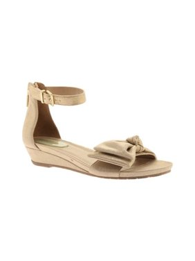 9ccfab5b5058 Product Image Women s Kenneth Cole Reaction Great Start Ankle Strap Sandal  Soft Gold Metallic 6.5 M
