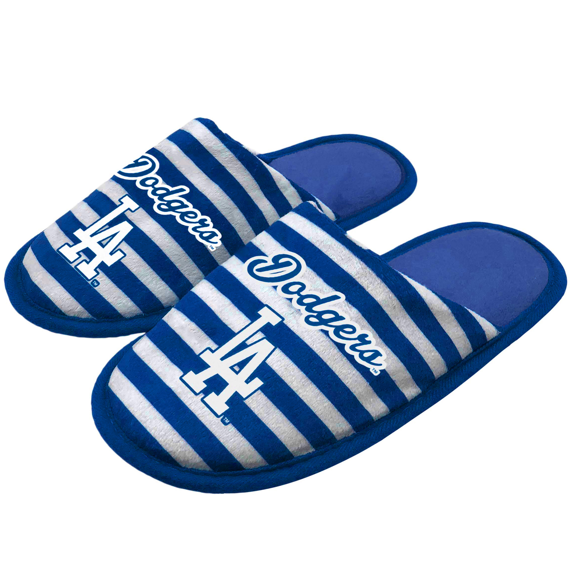 Los Angeles Dodgers Women's Scuff Slippers
