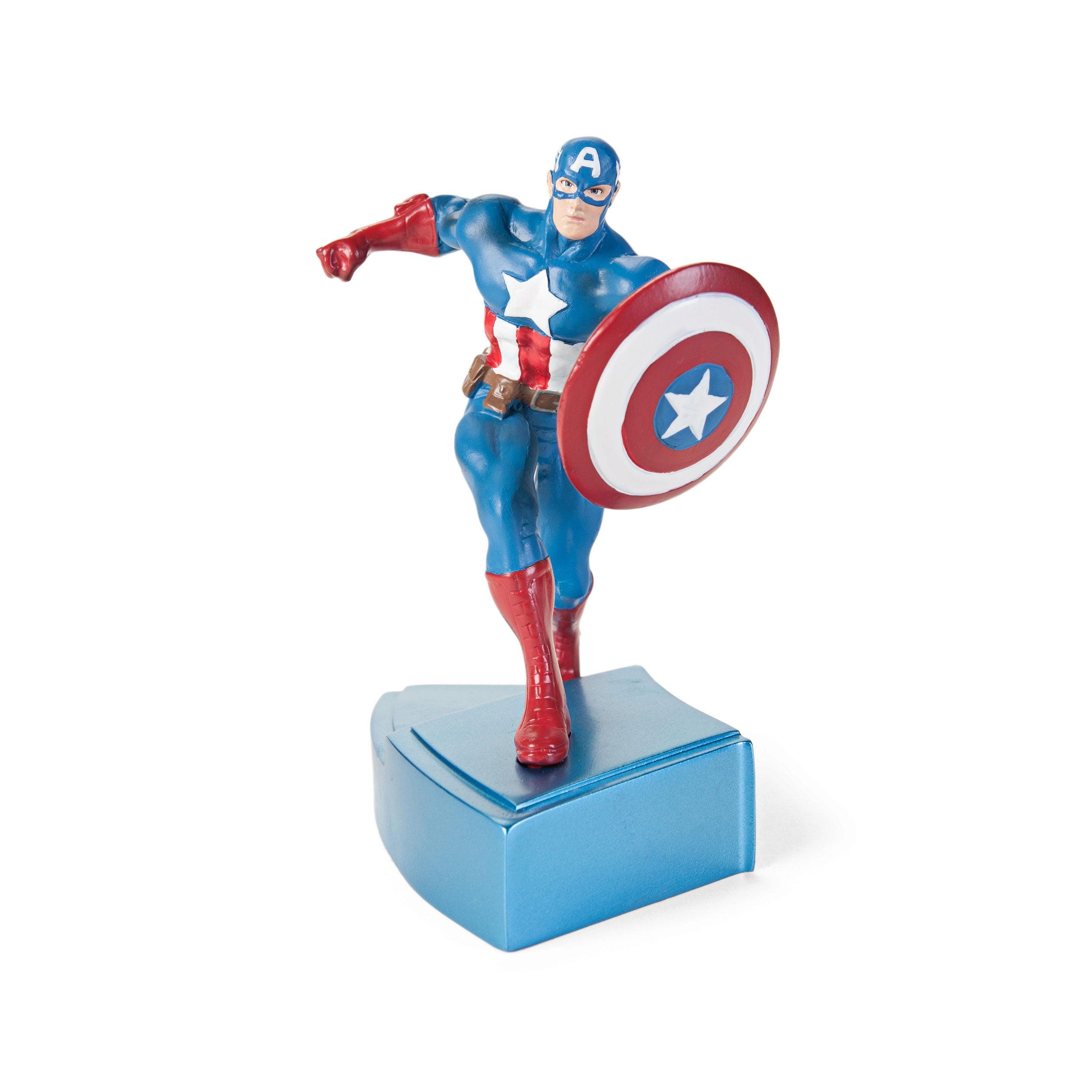 Marvel Avengers Captain America Paperweight Figure