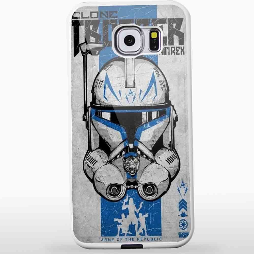 Ganma Clone Trooper Captain Rex Star Wars Case For Samsung Galaxy Case (Case For Samsung Galaxy S4 white)