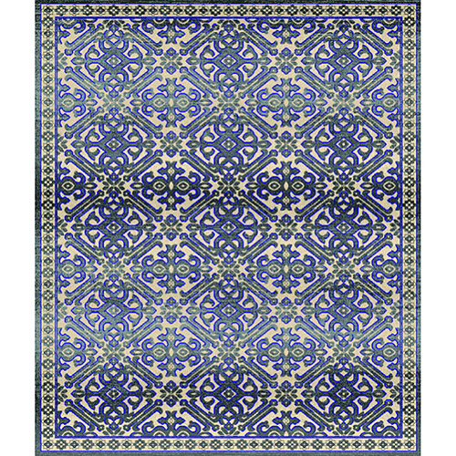 Home Dynamix Fresco Collection 18105-451 Area Rug, Grey