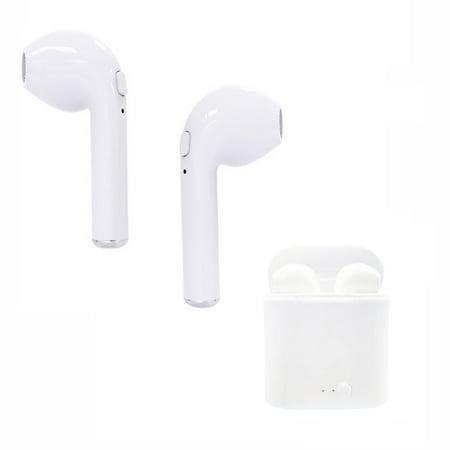 i7S TWS Wireless Earphones Headset BT Stereo Earphone for i-Phone Android Multimedia Stereo Earphone