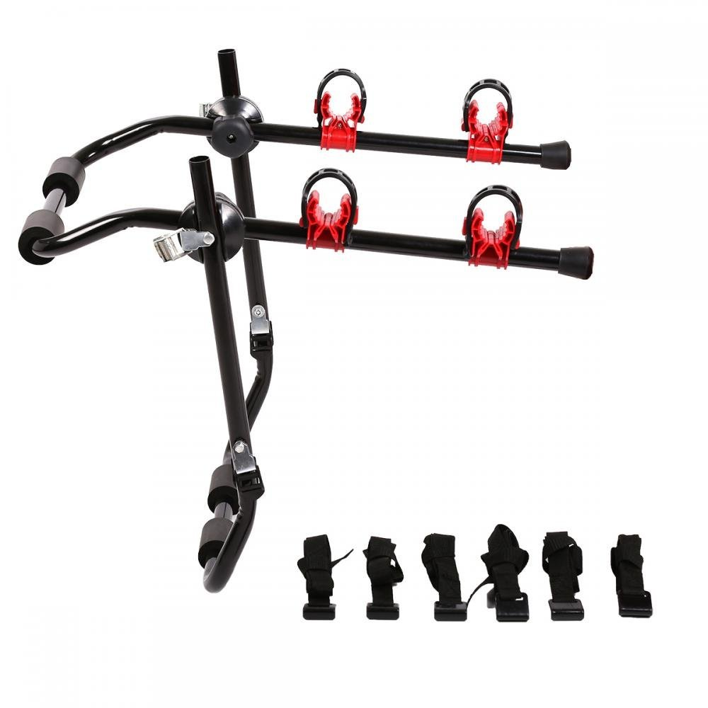 New 2-Bike Trunk Mount Rack Bicycle Rack Trunk Hitch Bike Carrier Holder