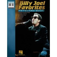 Billy Joel Favorites Keyboard Book