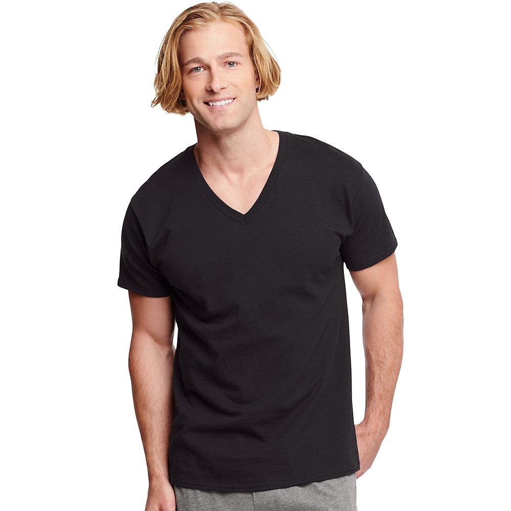 1b1da1a72 Hanes - Men's Ultimate ComfortSoft V-Neck Undershirt, 3-Pack - Walmart.com