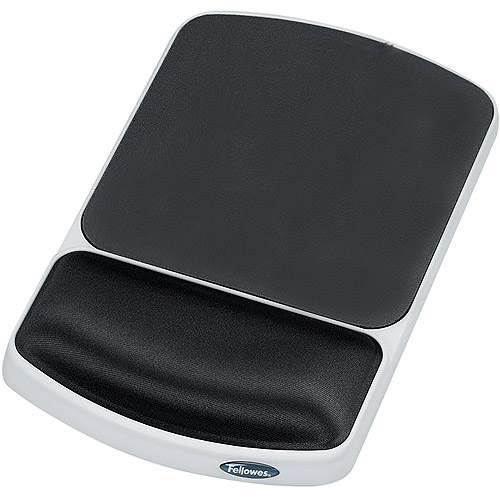 Fellowes Mouse Pad w/ Gel Wrist Pillow