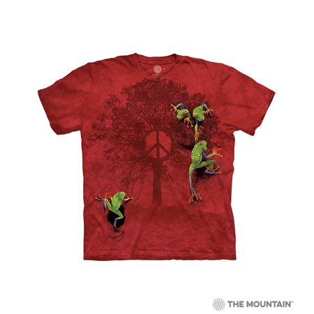26213304 Tuff America - The Mountain PEACE TREE FROG Child Unisex T-Shirt ...
