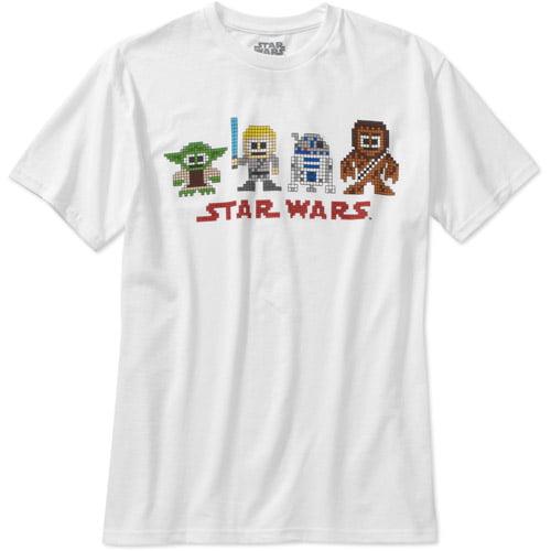 Star Wars Original Sprites Big Men's Graphic Tee