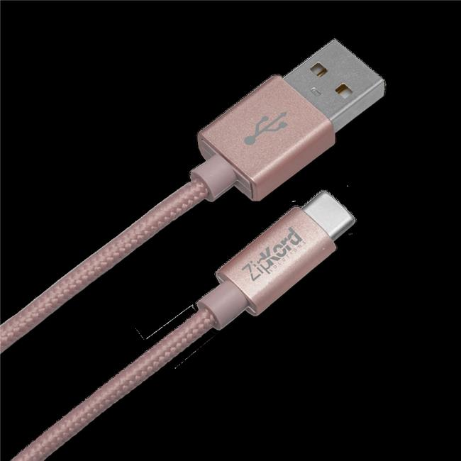 Zipkord 3 ft. USB 2.0 USB-A to USB-C Cable