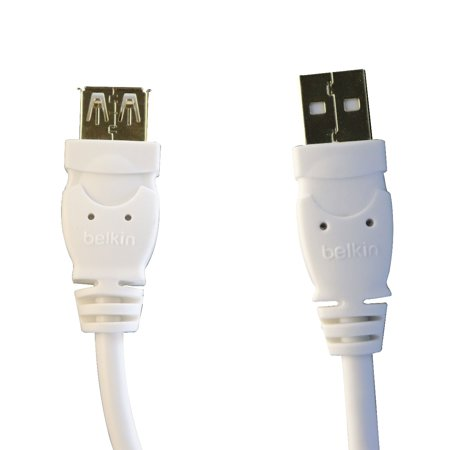 Belkin Universal 6Ft A/A Male USB to Female USB 1.0 Data Extension Cable -