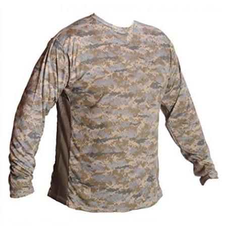 Breathe like a fish men 39 s long sleeve camo shirt marsh for Breath like a fish